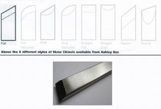 Flat Section Skew Chisels